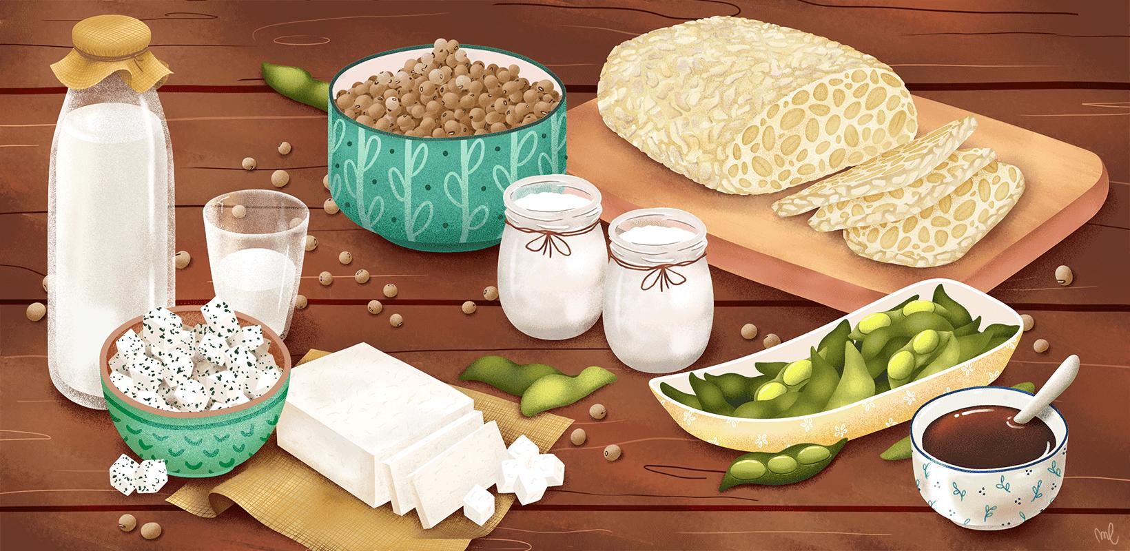 Est-ce que le soja est bon pour la santé ?